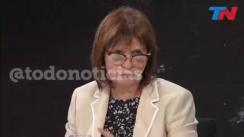 Bullrich: El reglamento no es fascista, está basado en las Naciones Unidas