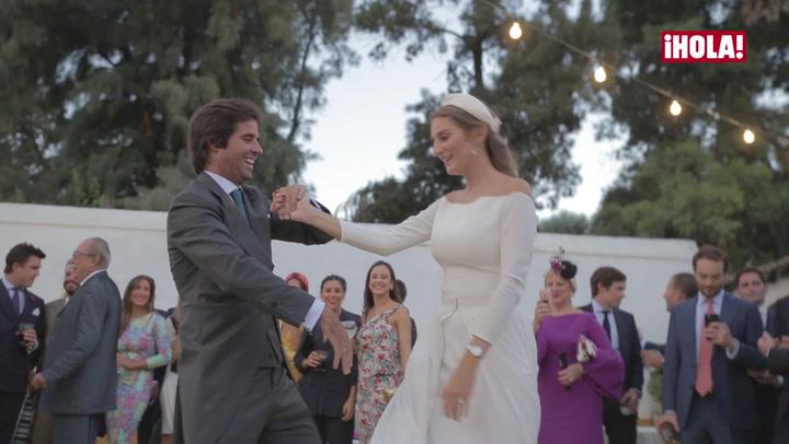 Así fue la fiesta de la boda de Sibi Montes y Álvaro Sanchís