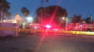Downtown Las Vegas fire