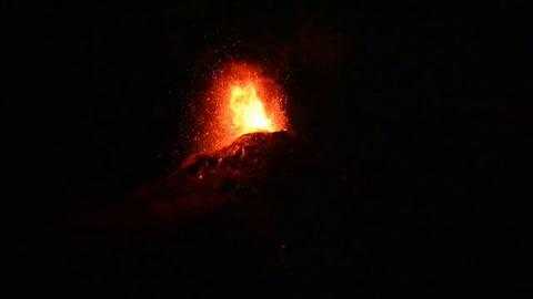 4.000 evacuados en Guatemala por erupción del volcán de Fuego