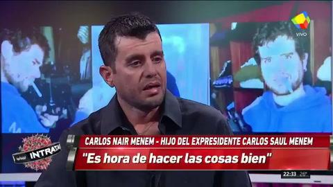Carlitos Nair habló de su paso en la cárcel: No quiero volver más