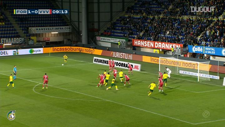 Mark Diemers' set-piece hat-trick downs VVV-Venlo