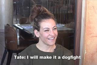 UFC's Tate: I will make it a dogfight