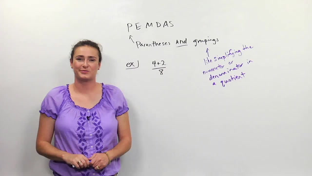 Complex Fractions and Order of Operations