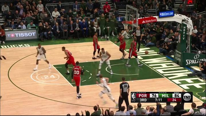Las 5 mejores jugadas de la jornada de la NBA el 22 de noviembre de 2019