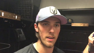 Maxime Lagace has his best performance to date in Golden Knights net