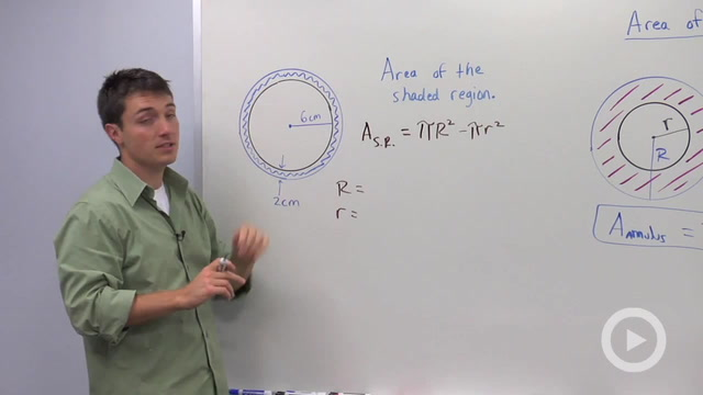 Area of an Annulus - Problem 2