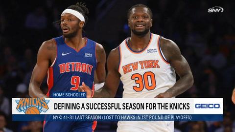 Knicks' 2021-2022 X-factor, keys to successful season