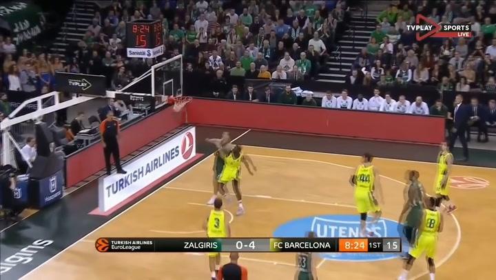 Así juega Brandon Davies, del Zalgiris Kaunas  (Temporada 2018-19)