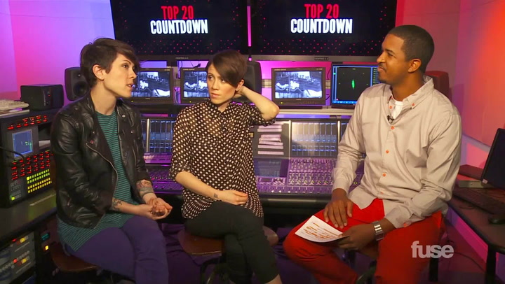 Shows: Top 20: Tegan and Sara The Road