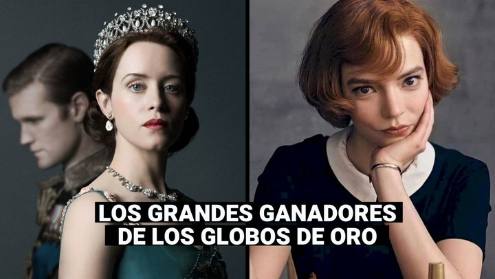 'The Crown' y 'Gambito de dama' (Netflix) arrasan en los Golden Globes 2021