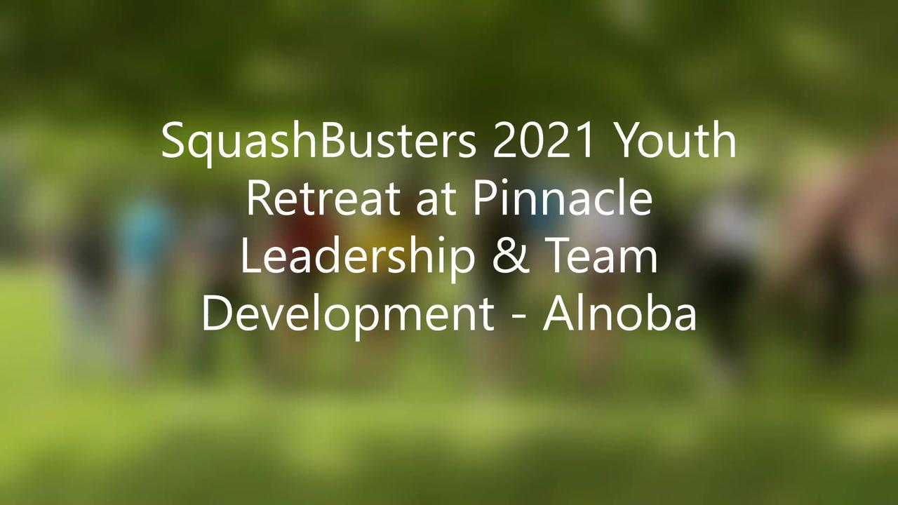 2021 SquashBusters Pinnacle LTD Youth Retreat
