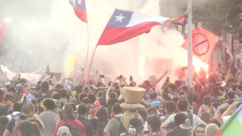 Chile entre la angustia y la esperanza después de tres meses de crisis