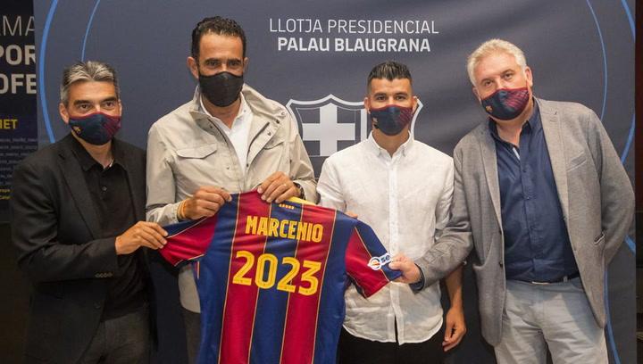 El Barça cierra la renovación de Marcenio hasta 2023