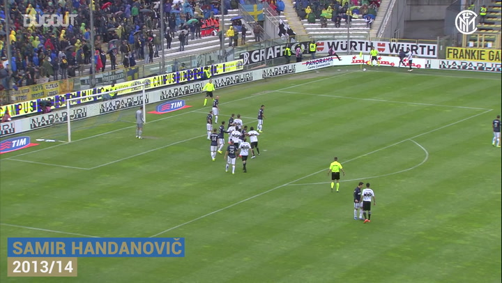 Inter's best saves in Parma