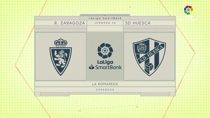 LaLiga SmartBank (J.36): Zaragoza 0-1 Huesca