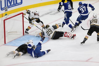 Golden Edge: Knights Fall To Tampa, Pacioretty Exits Game