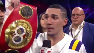 Teofimo López dedicó su triunfo a Honduras tras quedar campeón Mundial