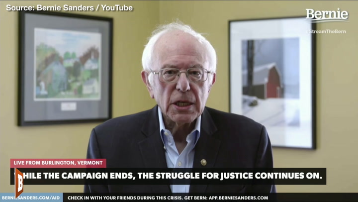 Bernie Sanders Quits White House Race