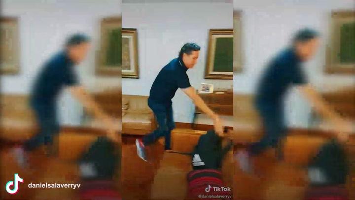 Daniel Salaverry muestra su lado humorístico en TikTok