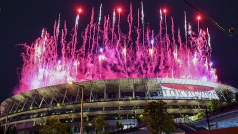 Tokio-2020 Las mejores imágenes de la inauguración de los Juegos