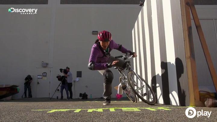 Kan man cykle på en omvendt cykel? – Mythbusters tester