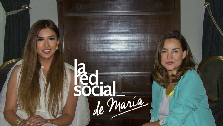 La princesa kuwaití, Sheika Aljawhara Al-Sabah se sincera en La Red Social de María Palacios