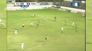 Platense le marca el 1-0 al Yoro FC en el estadio Excélsior