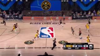 NBA: La jugada 'Jordanesca' que hizo Jamal Murray a LeBron James en la final del Oeste