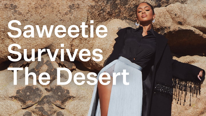 """Saweetie's """"The Icy Life"""" Behind the Scenes Of Her Elite Daily Photo Shoot"""