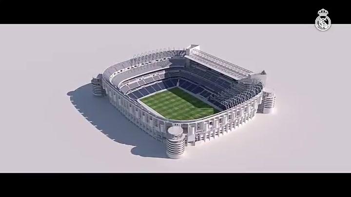 Asi será el proceso de las obras en el estadio Santiago Bernabéu que van a durar 3 años y medio.