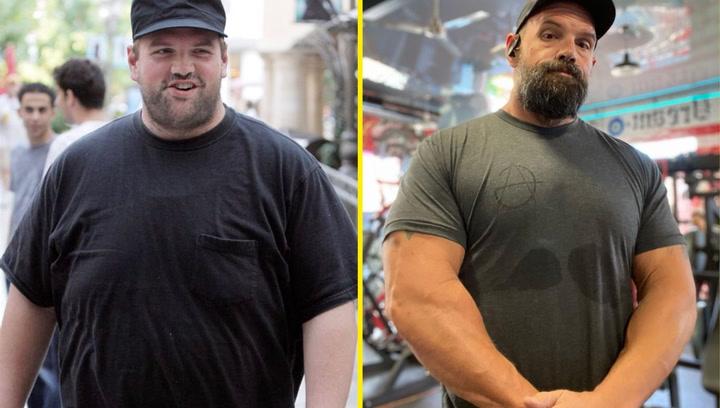 El asombroso cambio físico del actor Ethan Suplee: adelgaza 113 kilos y luce abdominales