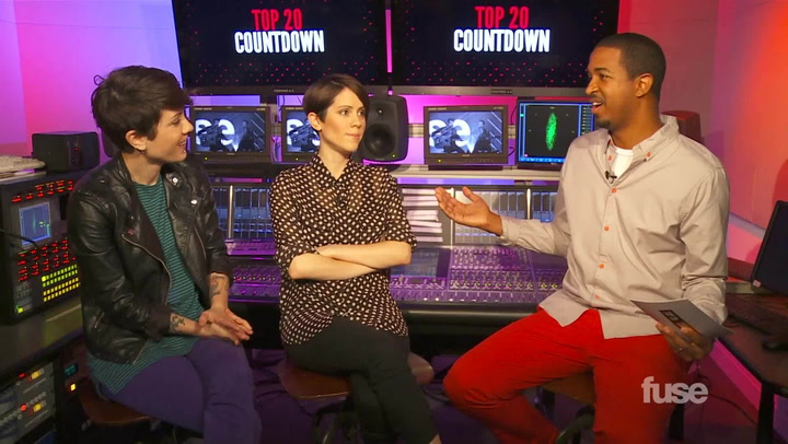 Shows: Top 20: Tegan and Sara  Fan Mail
