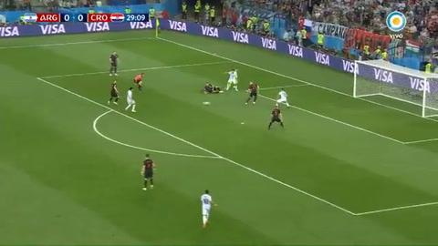 La increíble situación de gol que desperdició Enzo Pérez
