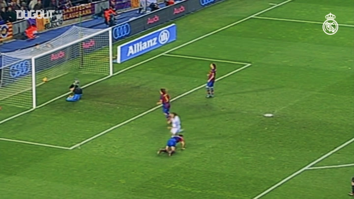 Julio Baptista's Stellar Finish Vs FC Barcelona