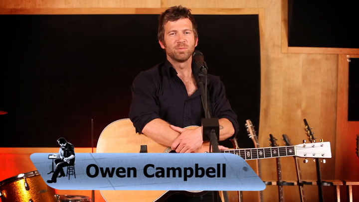 Owen Campbell performs Coming Home To You on The Jimmy Lloyd Songwriter Showcase