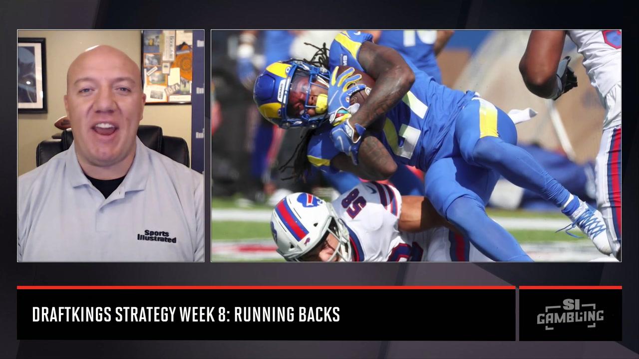 DraftKings Strategy RB Week 8