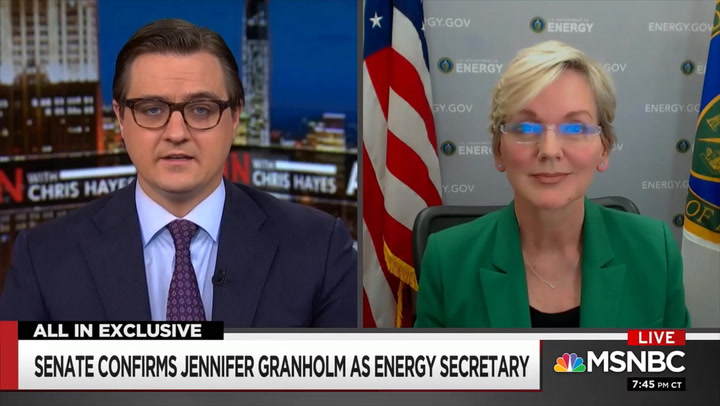 Granholm: Biden Admin. Wants to Put Some Benefits of Green Energy Investments into Places 'Hurt' by Move Away from Fossil Fuels