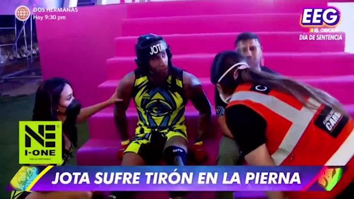 Esto es Guerra: Jota Benz se lesionó en duelo contra Facundo González | VIDEO