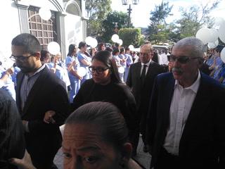 El último adiós del presidente del Olimpia, Rafael Ferrari