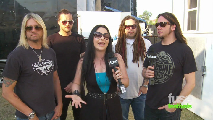 Evanescence On Playing Festivals and Writing On Tour: Beale St Music Festival