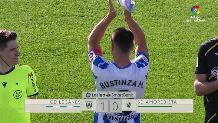 LaLiga SmartBank (J6): Resumen y gol del Leganés 1-0 Amorebieta