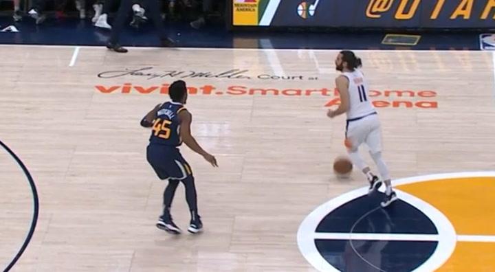 Gran actuación de Ricky Rubio ante Utah Jazz