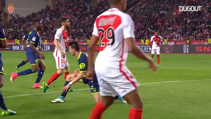 AS Monaco's top five goals against Lille