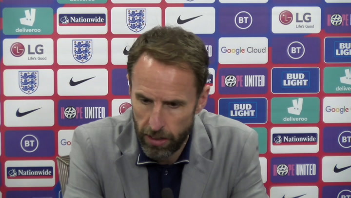 Gareth Southgate condemns fans who booed England players taking a knee