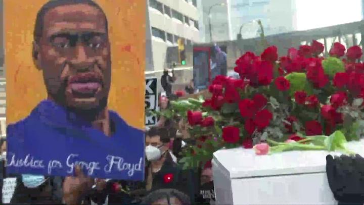 Comienza en EE.UU juicio a policía acusado de la muerte de George Floyd