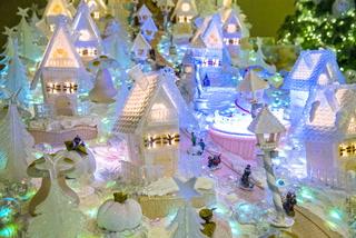 "Four Seasons ""gingerbread"" village on full display for Christmas season"