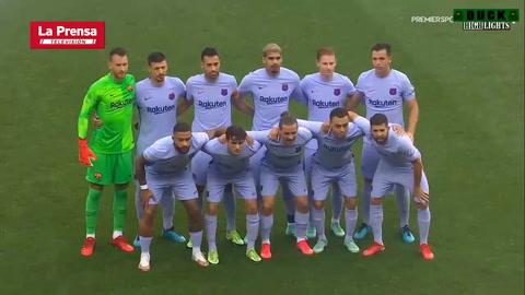 Salzburgo 2 - 1 Barcelona (Amistoso Internacional)