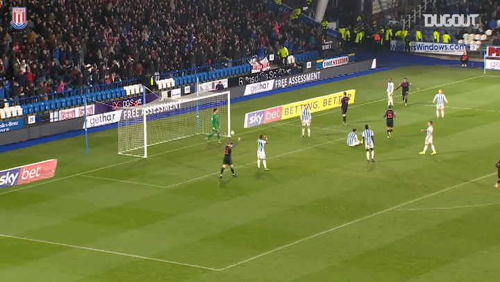 Powell scores first Stoke City goal