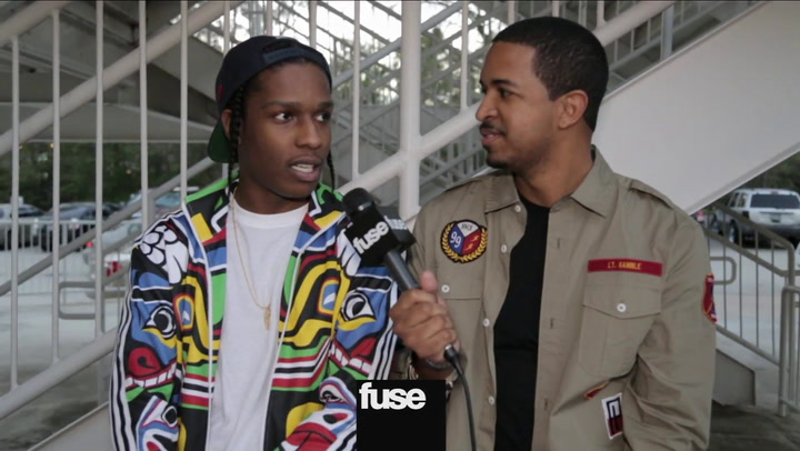 A$AP Rocky & Trinidad James At H-Town Sneaker Summit